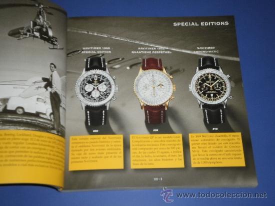 Relojes- Breitling: BREITLING - RELOJES RELOJ CATALOGO PROFESIONAL PUBLICIDAD CHRONOLOG 04 - AÑO 2004 - Foto 2 - 39103096