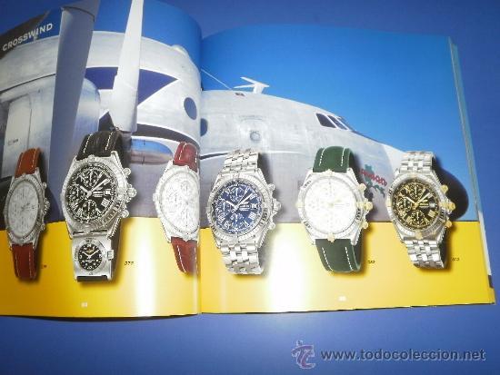 Relojes- Breitling: BREITLING - RELOJES RELOJ CATALOGO PROFESIONAL PUBLICIDAD CHRONOLOG 03 - AÑO 2003 - Foto 2 - 39103161