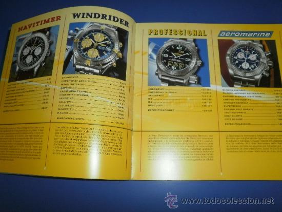 Relojes- Breitling: BREITLING - RELOJES RELOJ CATALOGO PROFESIONAL PUBLICIDAD CHRONOLOG 03 - AÑO 2003 - Foto 3 - 39103161