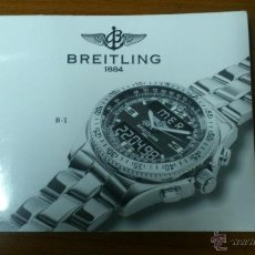 Montres- Breitling: INSTRUCCIONES DE FUNCIONAMIENTO RELOJ BREITLING B-1. Lote 48317926