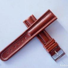 Relojes- Breitling: BREITLING PULSERA CUERO ORIGINAL CON HEBILLA 20MM. Lote 85022992