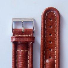 Montres- Breitling: BREITLING PULSERA CUERO ORIGINAL CON HEBILLA 20MM. Lote 94799527