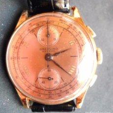 Relojes- Breitling: BREITLING PREMIER,JUMBO CHRONO, 18K.GOLD. Lote 102633323