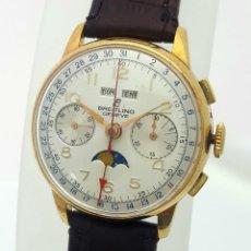 Relojes- Breitling: BREITLING VINTAGE BAÑO ORO 18K.1938-40 EXCELENTE ESTADO.. Lote 104369851