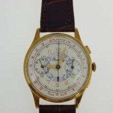 Relojes- Breitling: BREITLING CRONO PLAQUÉ ORO VINTAGE C.1.940. Lote 105224491