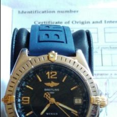 Relojes- Breitling: BREITLING WINGS ACERO Y ORO AUTOMATICO CON 2 ARMYS UNO DE ELLOS SIN ESTRENAR EST.MUY BUENO . Lote 106905519