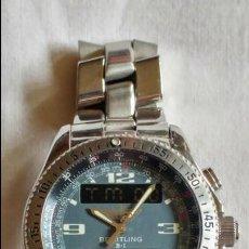Relojes- Breitling: BREITLING B1 44MMS ESTADO MUY BUENO CON AMBAS CAJAS Y DOCUMENTACION . Lote 109080987
