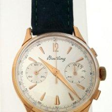Relojes- Breitling: BREITLING CRONO VINTAGE C.1940 PLAQUÉ ORO 18KT.. Lote 119921295