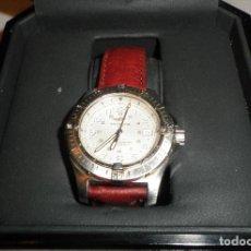 Relojes- Breitling: RELOJ BREITLING COLT CRONOMETRE-ESTUCHE DE BAQUELITA-CAJA ORIGINAL Y BOLSA OFICIAL DE LA TIENDA. Lote 127679571