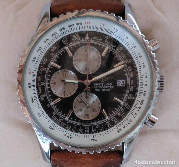 f8731621f8d2 Reloj breitling chonometre navitimer. - Sold at Auction - 131571502