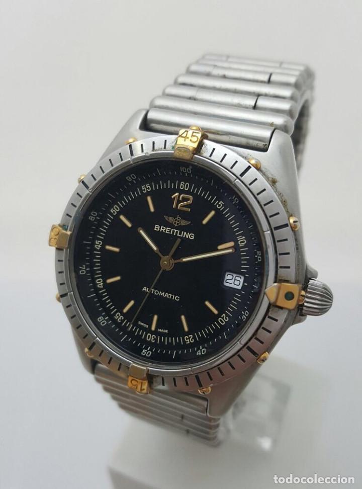 5c45102ac09 breitling bisel acero-oro 18kt.¡¡como nuevo!! - Comprar Relojes ...