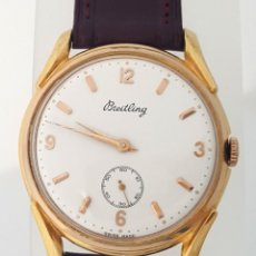 Relojes- Breitling: BREITLING VINTAGE C.1.940 PLAQUÈ ORO. Lote 146046246