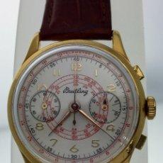 Relojes- Breitling: BREITLING VINTAGE C.1.940 PLAQUÈ ORO. Lote 143767934