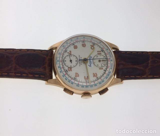 Relojes- Breitling: BREITLING ORO 18Kt CHRONOGRAFO.C.1.940 - Foto 2 - 145300890