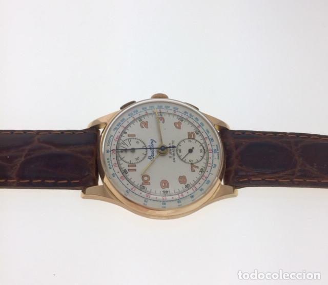 Relojes- Breitling: BREITLING ORO 18Kt CHRONOGRAFO.C.1.940 - Foto 4 - 145300890