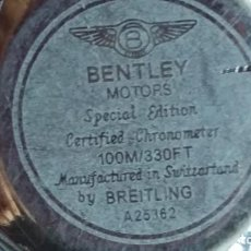 Relojes- Breitling: BENTLEY MOTORS SPECIAL EDITION A25362 NAVITIMER. Lote 150163154