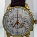 Relojes- Breitling: BREITLING CRONO PLAQUÈ ORO VINTAGE C.1.945. Lote 156571962