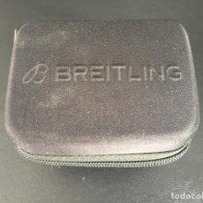 Relojes- Breitling: ESTUCHE ORIGINAL DE RELOJ BREITLING , PARA VIAJE . Lote 163919750