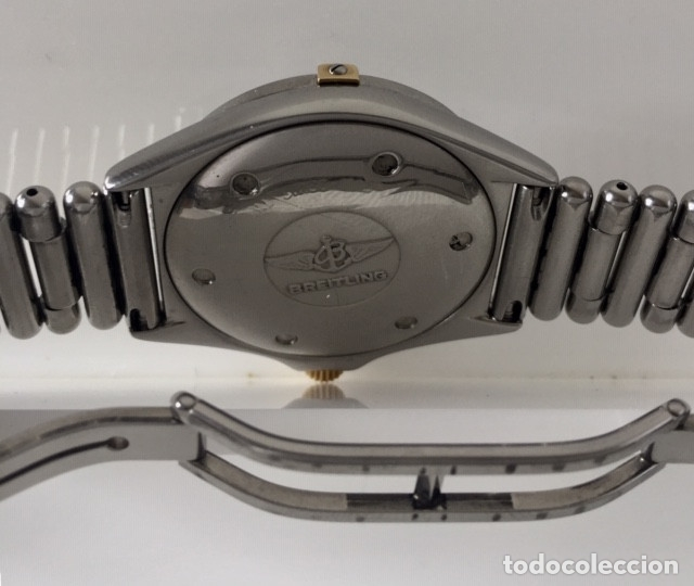 Relojes- Breitling: BREITLING BISEL ACERO-ORO 18KT.¡¡COMO NUEVO!! - Foto 3 - 137783954