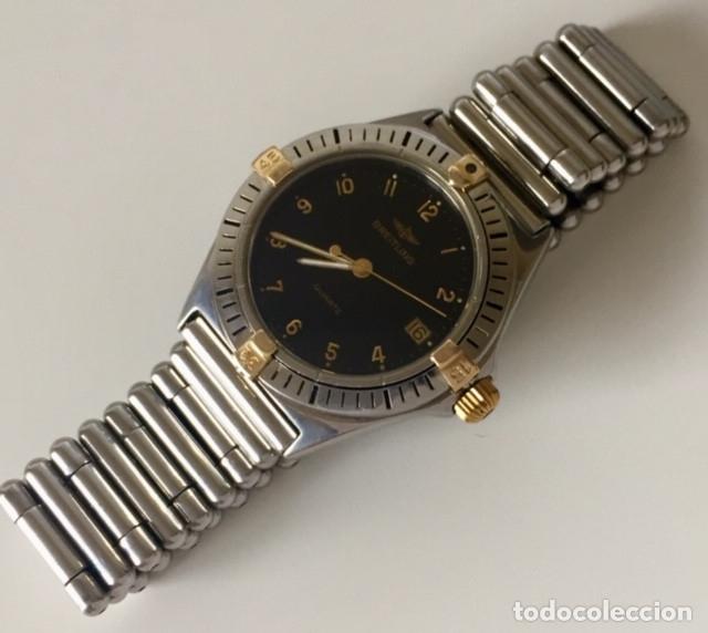 Relojes- Breitling: BREITLING BISEL ACERO-ORO 18KT.¡¡COMO NUEVO!! - Foto 2 - 137783954