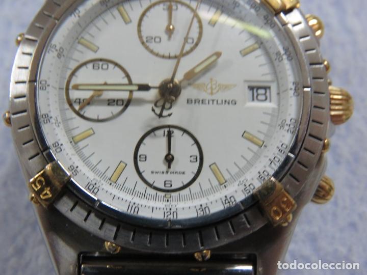 Relojes- Breitling: FANTASTICO BREITLING CHRONOMAT UTC DOBLE HORARIO, AUTOMATICO, EN ACERO Y ORO, FUNCIONA PERFECTO - Foto 7 - 172849383