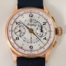 Relojes- Breitling: BREITLING CRONO ORO 18KT.COMO NUEVO.. Lote 173430098