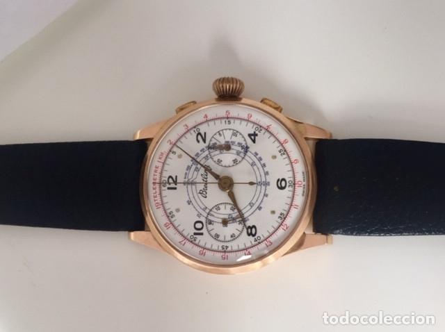 Relojes- Breitling: BREITLING CRONO ORO 18KT.COMO NUEVO. - Foto 5 - 173430098