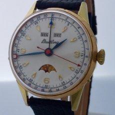 Relojes- Breitling: BREITLING TRIPLE DATE FASE DE LUNA VINTAGE.. Lote 181509307