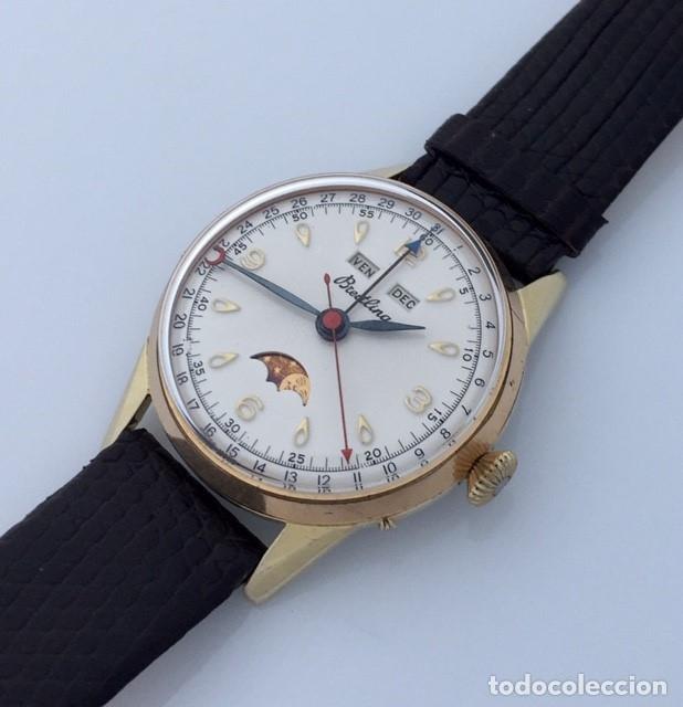 Relojes- Breitling: BREITLING TRIPLE DATE FASE DE LUNA VINTAGE. - Foto 2 - 217000871