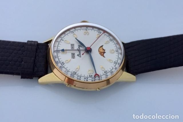 Relojes- Breitling: BREITLING TRIPLE DATE FASE DE LUNA VINTAGE. - Foto 3 - 217000871