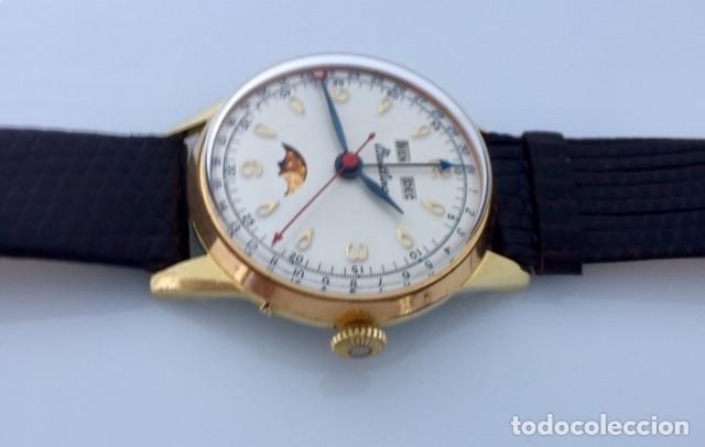 Relojes- Breitling: BREITLING TRIPLE DATE FASE DE LUNA VINTAGE. - Foto 4 - 181509307