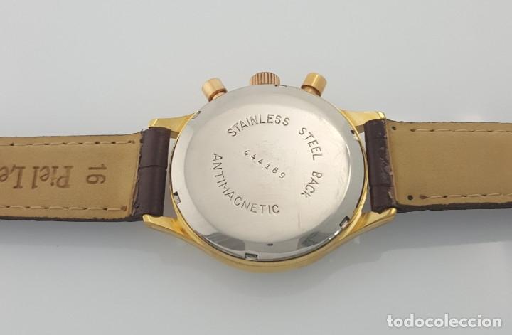 Relojes- Breitling: BRETILING CRONOGRAFO PLACADO ORO 18KT VINTAGE 1.945 - Foto 4 - 173884424