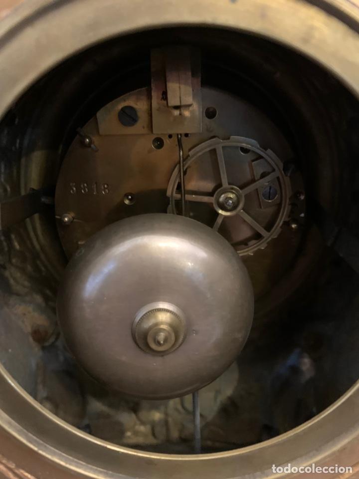 Relojes- Breitling: CONJUNTO DE RELOJ Y CANDELABROS DE BRONCE - Foto 12 - 153277770