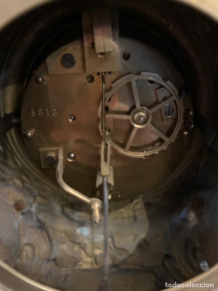 Relojes- Breitling: CONJUNTO DE RELOJ Y CANDELABROS DE BRONCE - Foto 13 - 153277770