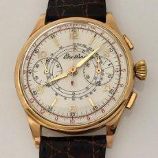 Relojes- Breitling: BREITLING CRONO ORO 18KTS. Lote 183710022