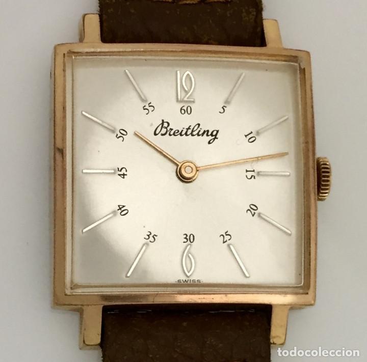 BREITLING VINTAGE PLAQUÈ ORO. (Relojes - Relojes Actuales - Breitling)
