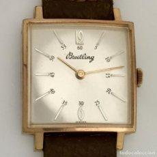 Relojes- Breitling: BREITLING VINTAGE PLAQUÈ ORO.. Lote 189602247