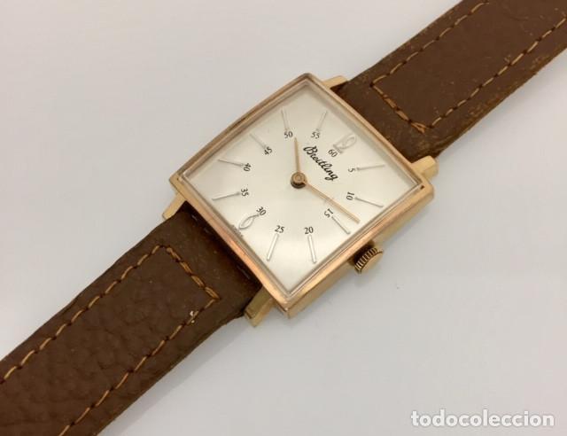 Relojes- Breitling: BREITLING VINTAGE PLAQUÈ ORO. - Foto 2 - 189602247