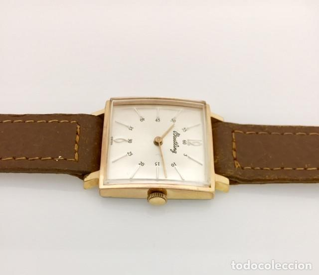 Relojes- Breitling: BREITLING VINTAGE PLAQUÈ ORO. - Foto 3 - 189602247