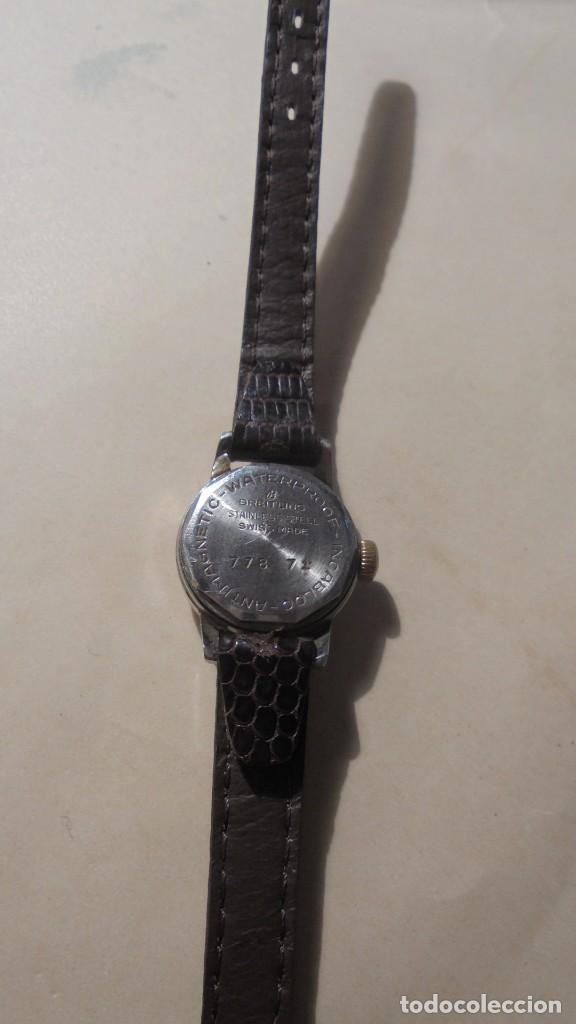Relojes- Breitling: BREITLING - ANTIGUO RELOJ - DE CUERDA SEÑORA , BREITLING GENEVE 17 JEWELS SWISS MADE - Foto 4 - 189816977