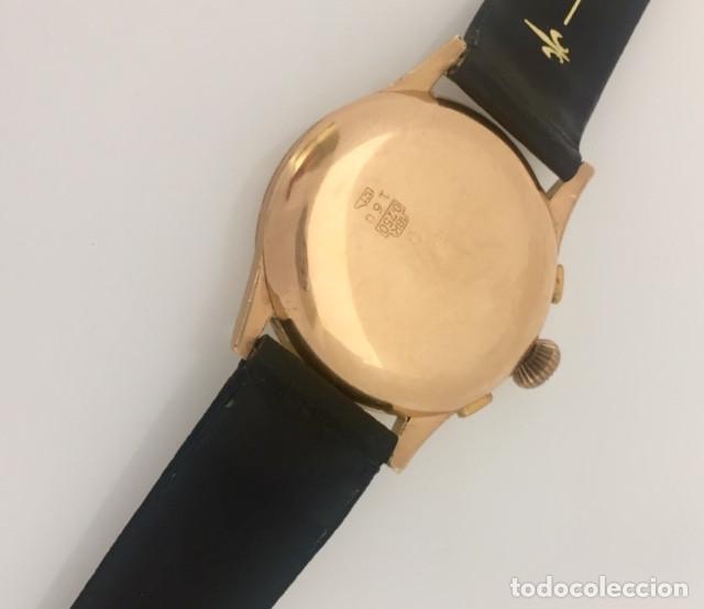 Relojes- Breitling: BREITLING CRONO ORO 18KTS.NUEVO(OLD STOCK) - Foto 4 - 197370870