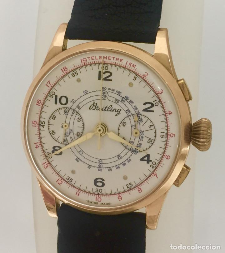 BREITLING CRONO ORO 18KTS.NUEVO A ESTRENAR.(OLD STOCK) (Relojes - Relojes Actuales - Breitling)
