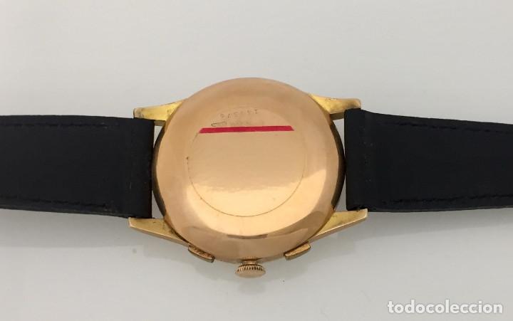 Relojes- Breitling: BREITLING CRONO ORO 18KTS.NUEVO A ESTRENAR.(OLD STOCK) - Foto 5 - 197688093