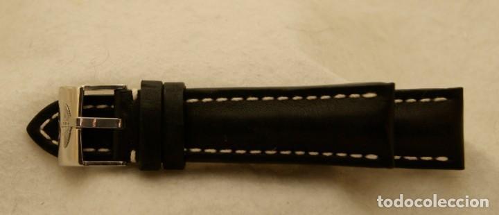 Relojes- Breitling: BREITLING NAVITIMER , SUPEROCEAN PULSERA DE CUERO + HEBILLA ACERO ORIGINAL 441X - Foto 6 - 198469698