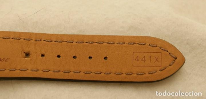 Relojes- Breitling: BREITLING NAVITIMER , SUPEROCEAN PULSERA DE CUERO + HEBILLA ACERO ORIGINAL 441X - Foto 8 - 198469698