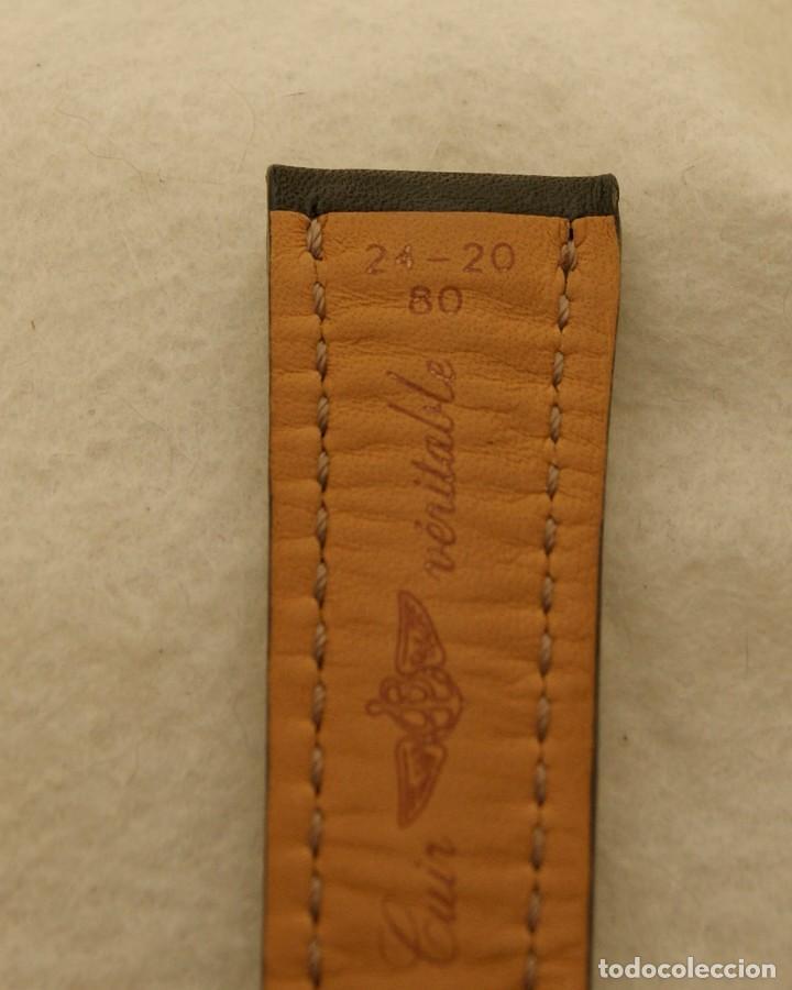 Relojes- Breitling: BREITLING NAVITIMER , SUPEROCEAN PULSERA DE CUERO + HEBILLA ACERO ORIGINAL 441X - Foto 14 - 198469698