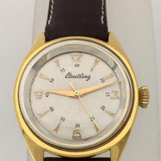 Relojes- Breitling: BREITLING VINTAGE PLAQUÈ ORO.. Lote 198577871