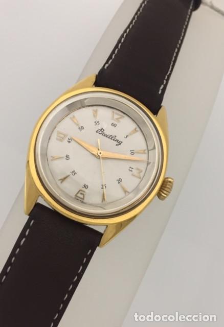 Relojes- Breitling: BREITLING VINTAGE PLAQUÈ ORO. - Foto 2 - 198577871