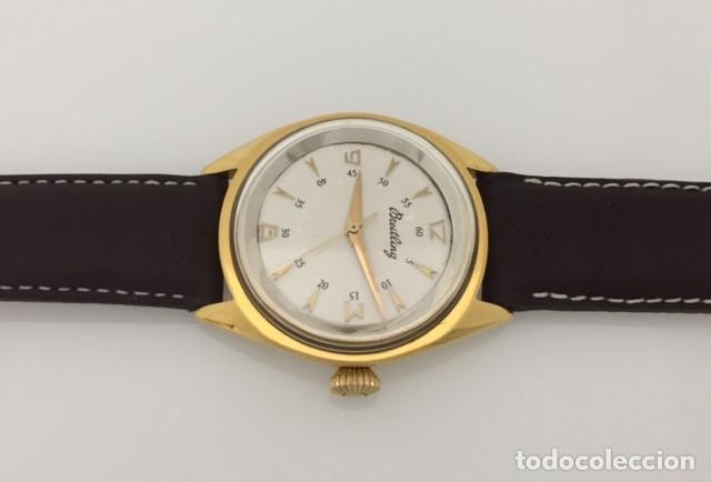 Relojes- Breitling: BREITLING VINTAGE PLAQUÈ ORO. - Foto 3 - 198577871