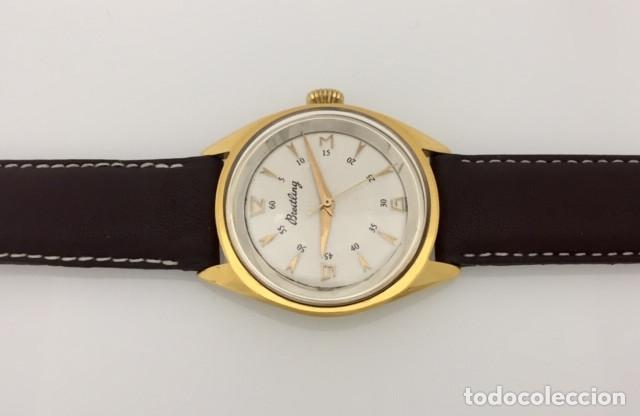 Relojes- Breitling: BREITLING VINTAGE PLAQUÈ ORO. - Foto 4 - 198577871